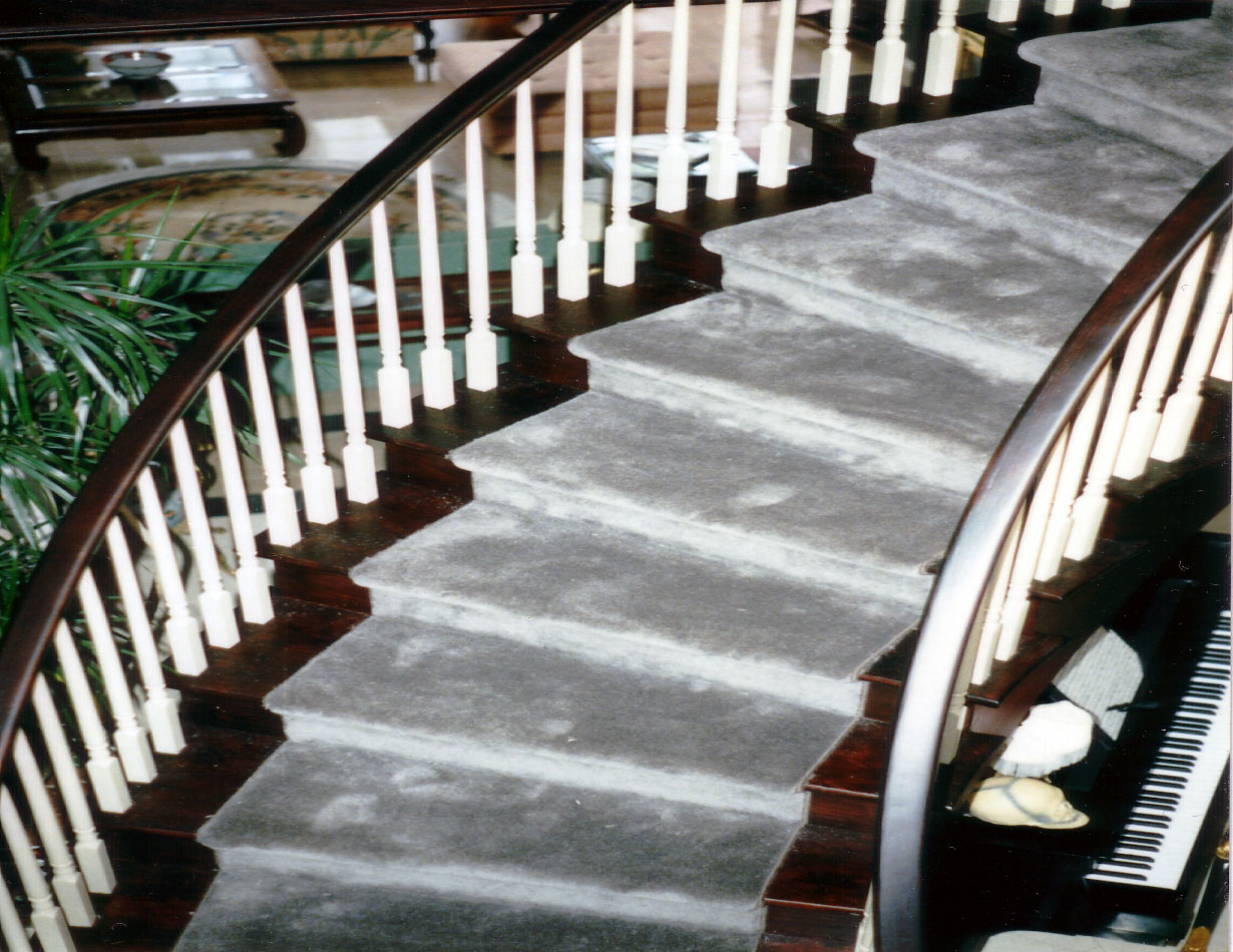 Custom staircase carpets can add to your homes overall artistic style.